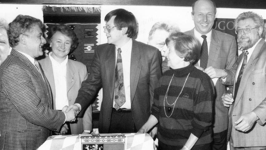 Schwabach: So liefen 75 Jahre CSU