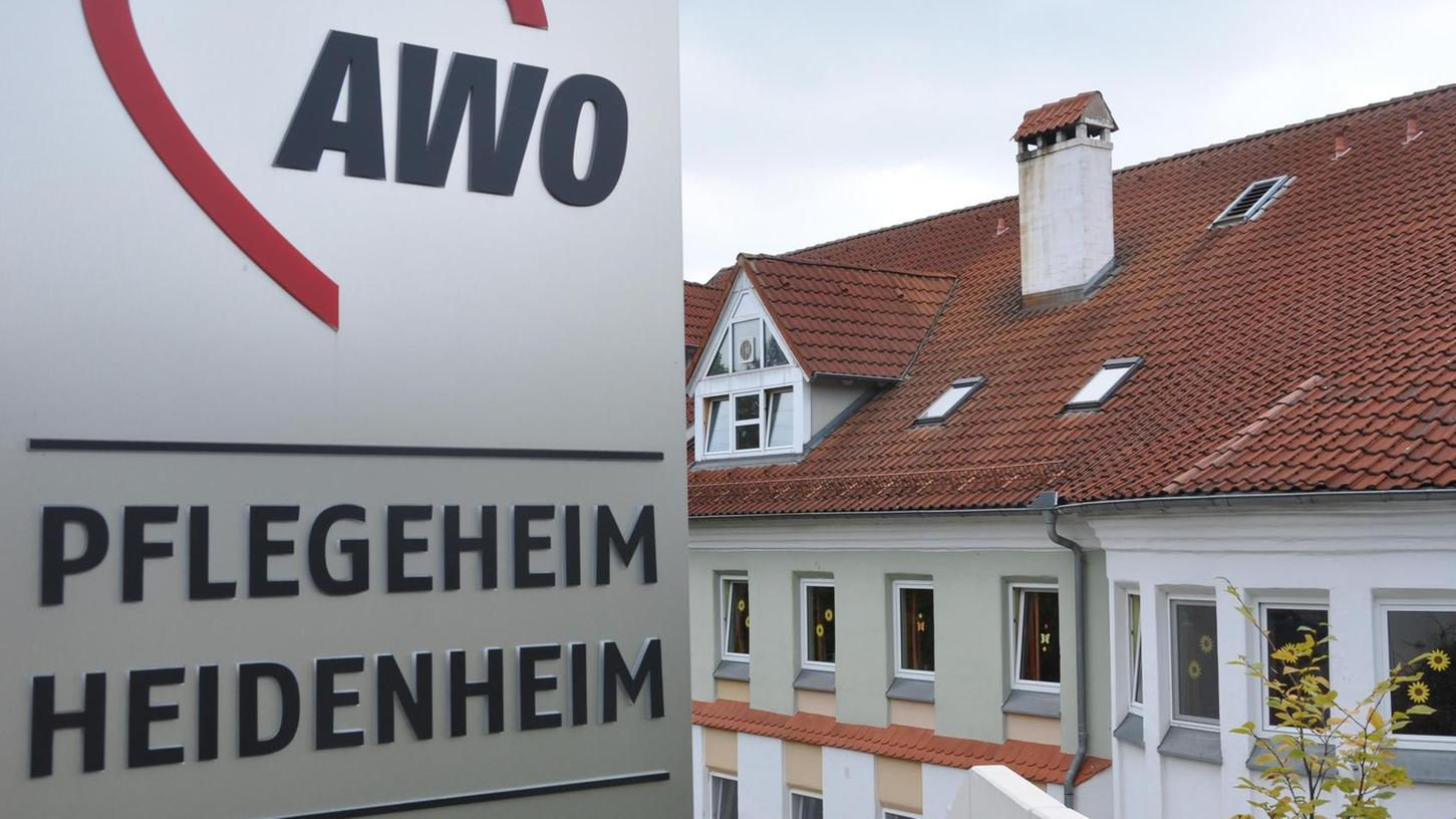 Corona-Brennpunkt im Landkreis: das AWO-Pflegeheim in Heidenheim, wo sich 57 Bewohner angesteckt haben.