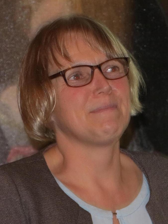 Babett Guthmann aus Theilenhofen arbeitet eng mit Klaus Selz zusammen, damit das gemeinsam Werk gelingt.