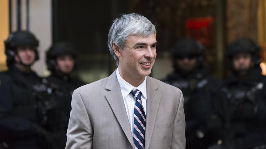 Ohne Google geht's nicht? Das dürfte Larry Page freuen - er war Mitbegründer der Suchmaschine und von 2015 bis 2019 CEO der Google-Muttergesellschaft Alphabet. Sein Vermögen beträgt schätzungsweise 76,4 Milliarden US-Dollar (Stand: 16.01.2021).