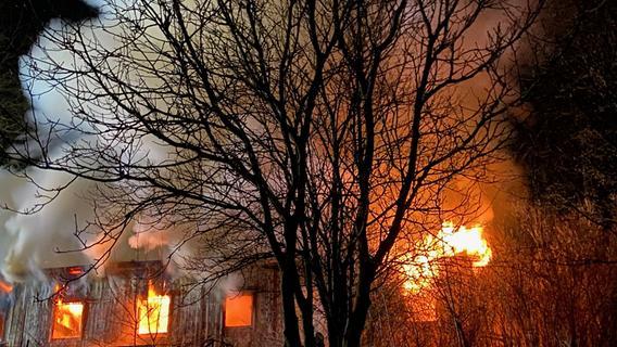 Mann stirbt bei Feuer im Landkreis Fürth: Brandursache steht fest