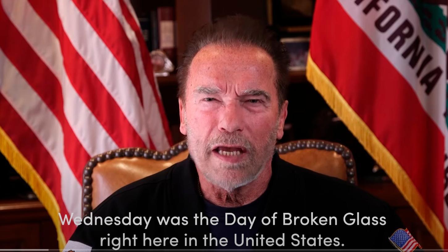 Arnold Schwarzenegger, ehemaliger republikanischer Gouverneur von Kalifornien, lässt kein gutes Haar an Donald Trump.