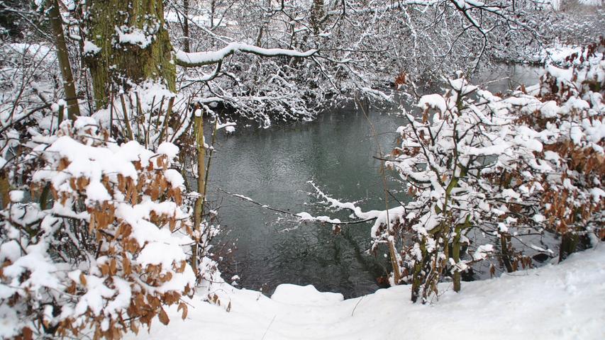 Schnee in der Fränkischen Schweiz: Die schönsten Bilder