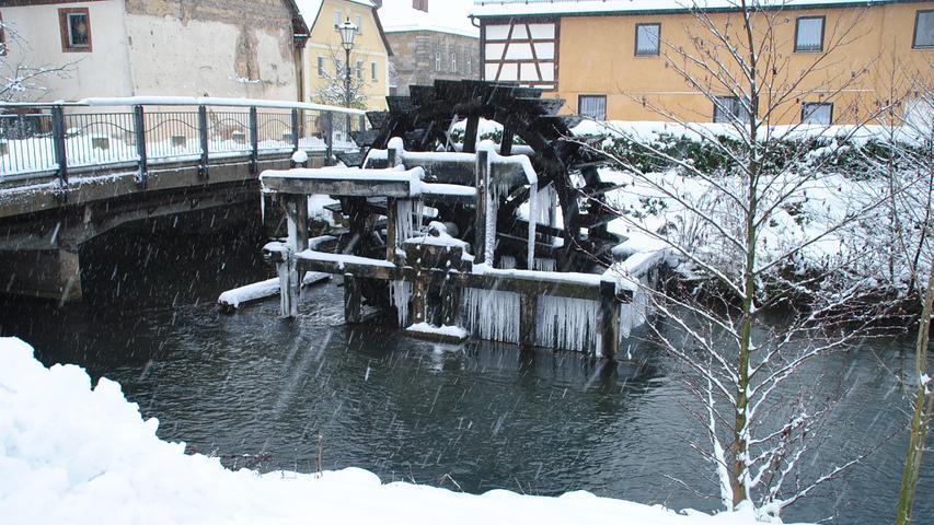 Schnee, Winterfotos aus Ebermannstadt..12.01.21....Foto: Stefan Braun