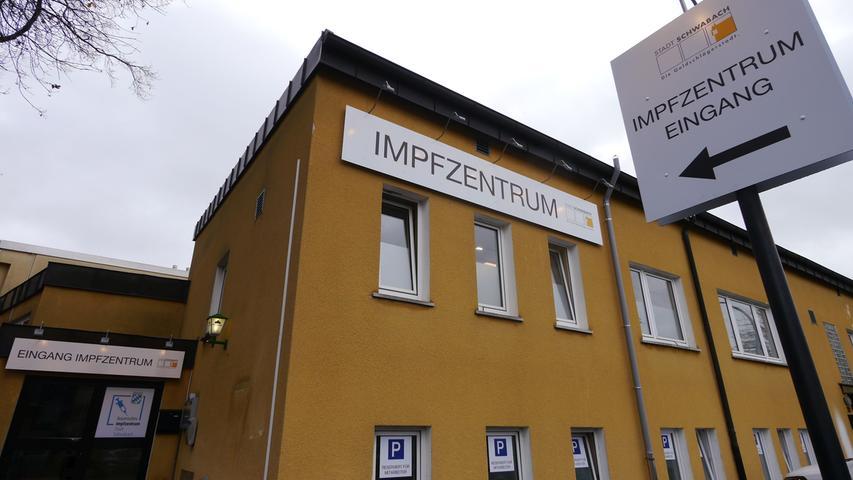 Einblick ins Impfzentrum: Hier wird in Schwabach geimpft
