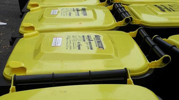 Hohe Nachfrage nach der Gelben Tonne in Erlangen