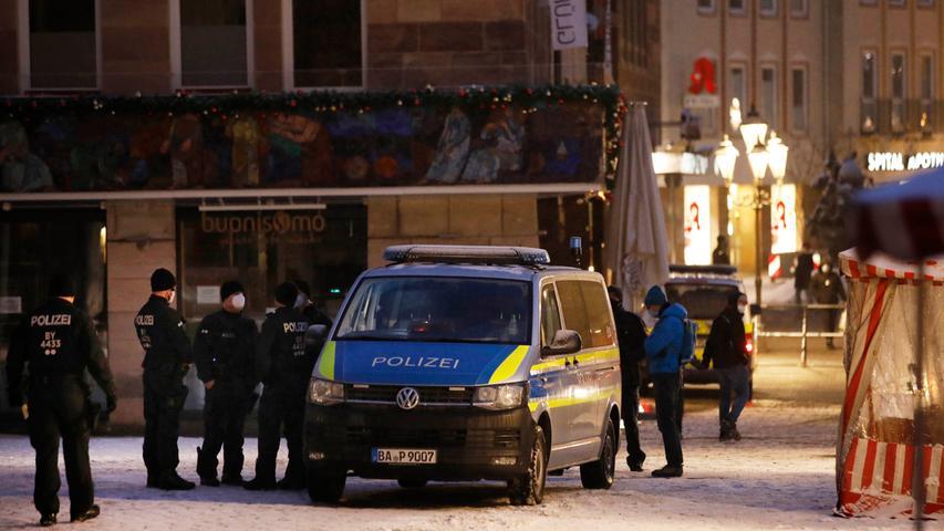 Nach Verbot: Polizei wappnet sich für spontane Corona-Demos in Nürnberg