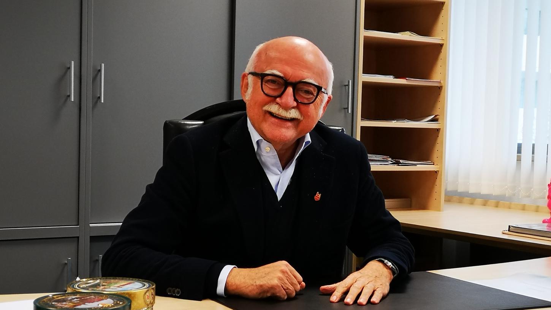 Ist mit Kulturbürgermeisterin Julia Lehner (CSU) verheiratet: Unternehmer Gerd Schmelzer.