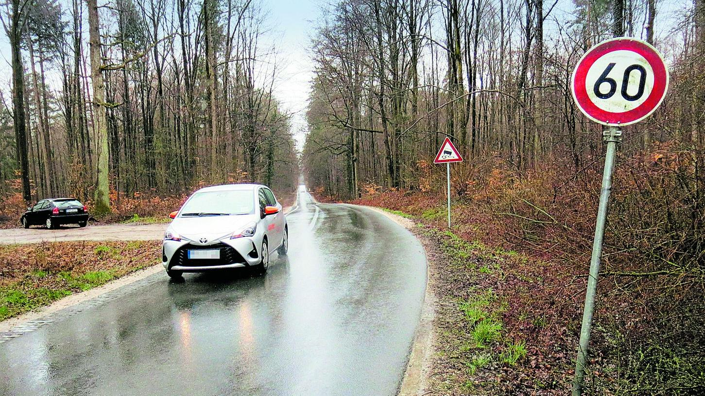 Gern nutzen Pendler aus dem Erlanger und Forchheimer Oberland die Straßen von Heroldsberg und Kalchreuth nach Buchenbühl, um den Staus auf der B 2 zu entgehen.