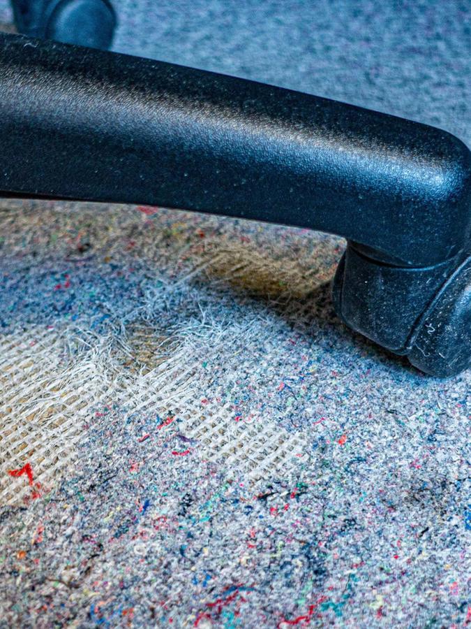 Rathausimpressionen 3: Teppich.