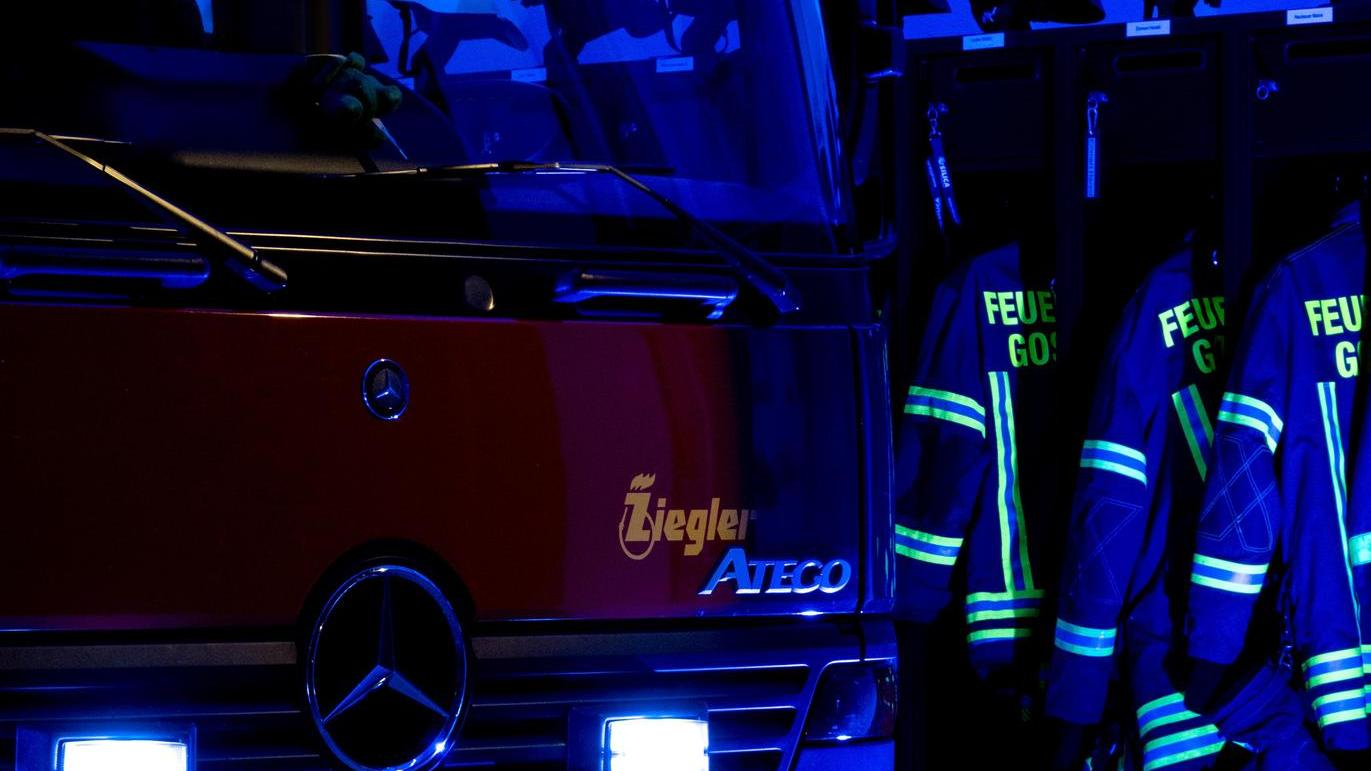 Auch die Feuerwehr Gosberg war bei der Challenge #bluelightfirestation dabei