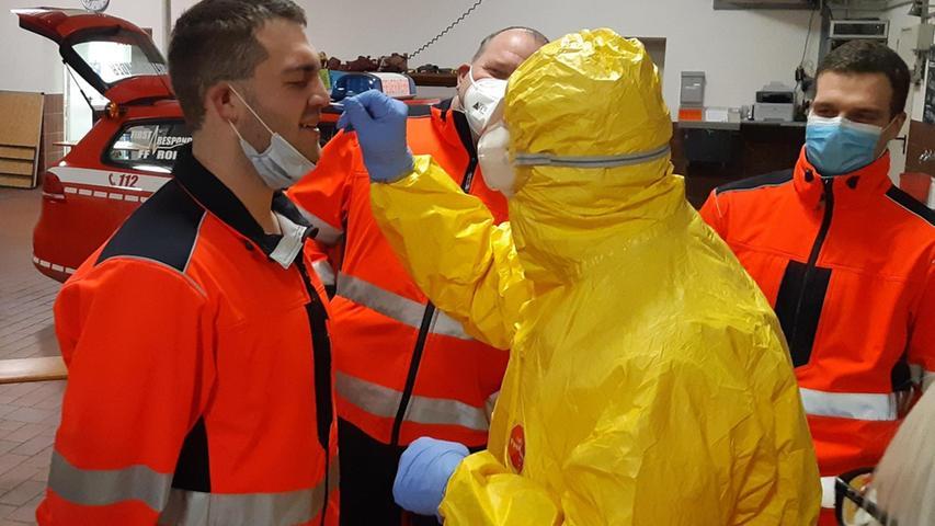 Schnelltests für Einsatzkräfte: Feuerwehr im Landkreis Roth stellt Expertengruppe auf