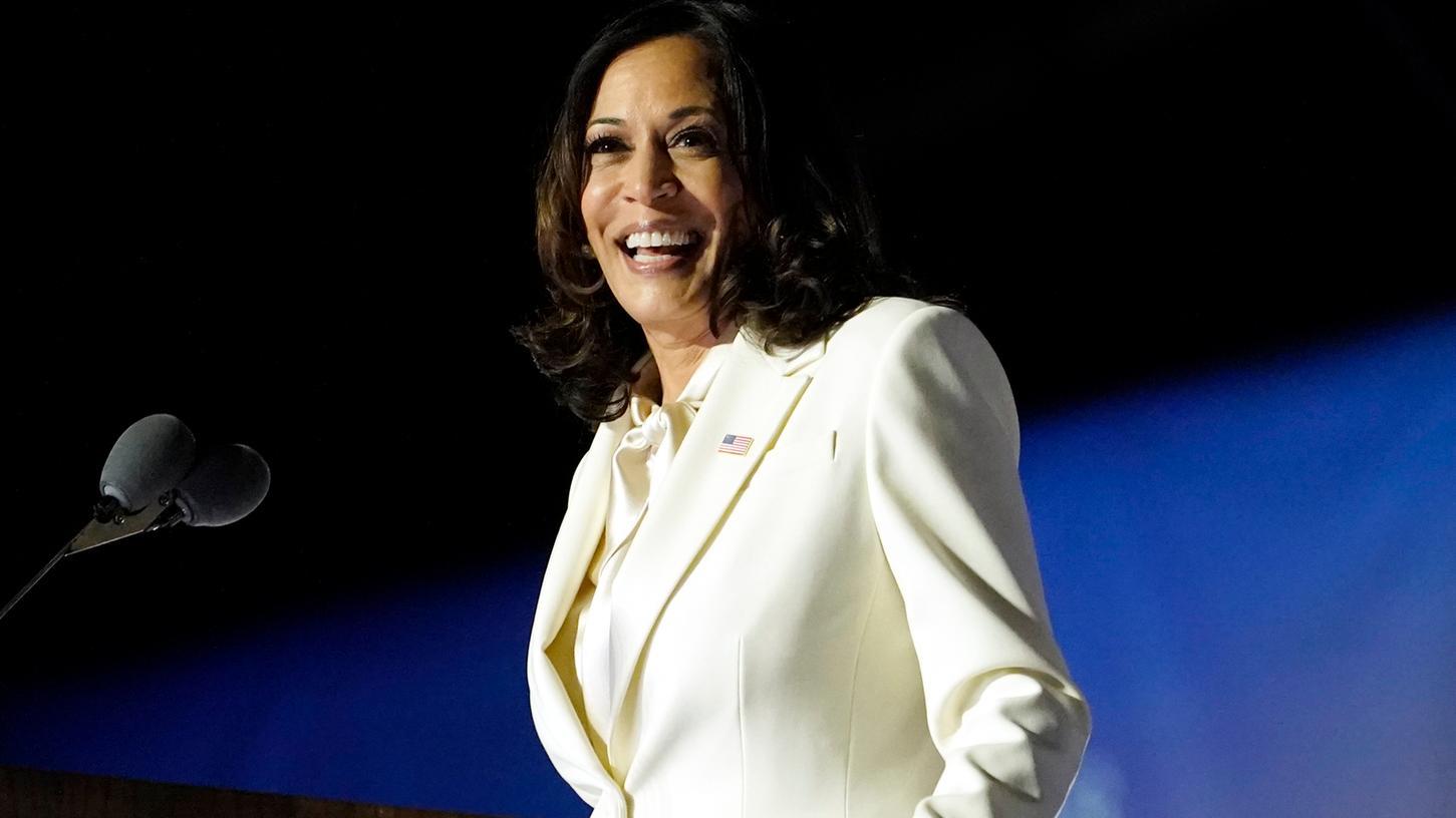 Kamala Harris ist die erste Schwarze Frau im Vizepräsidentenamt der USA.