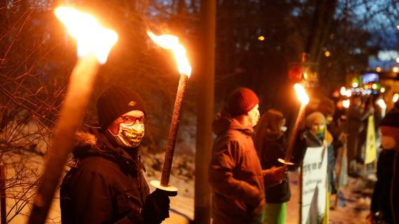 Die Veranstalter hatten die Zahl der Teilnehmer wegen der Pandemie bewusst klein gehalten.