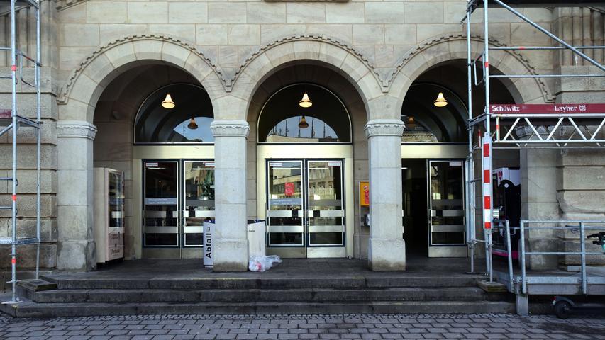 FOTO: Hans-Joachim Winckler DATUM: 22.1.2021..MOTIV: Hauptbahnhof Fürth - Sanierung schreitet voran -