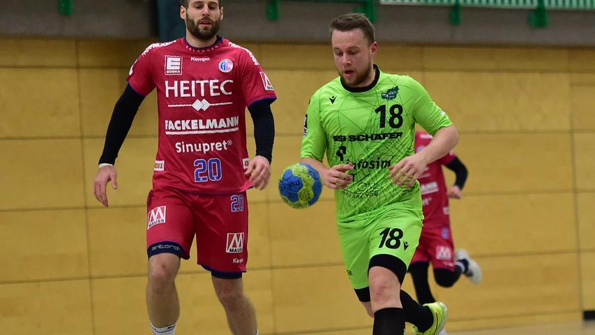 Wettkampfsimulation in Würzburg: HCE gewinnt Testspiel gegen Rimpar