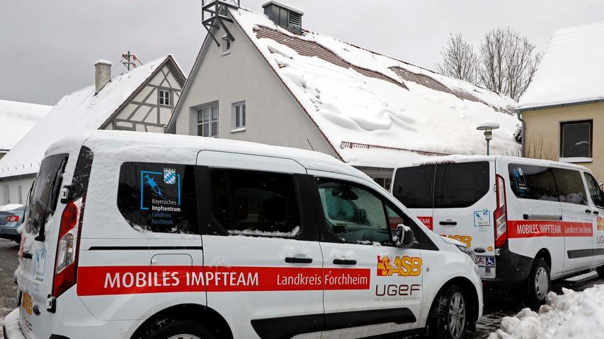 Zum Impfen ins Mehrzweckhaus: Landkreis Forchheim organisiert Vor-Ort-Termine für Corona-Impfung