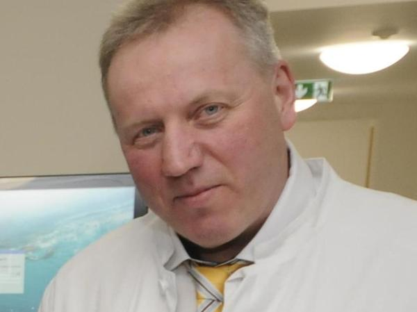 Besorgt: Der Ärztliche Leiter der Klinik in Höchstadt, Martin Grauer.