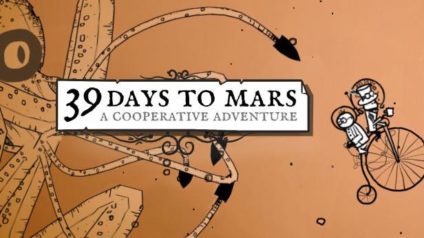 Das Puzzleabenteuer 39 Days To Mars kann nur im kooperativen Modus gespielt werden. In Steampunk-Atmosphäre müssen sich die Spieler kniffligen Rätseln stellen. Verfügbar ist das Spiel auf allen gängigen Konsolen und PC.