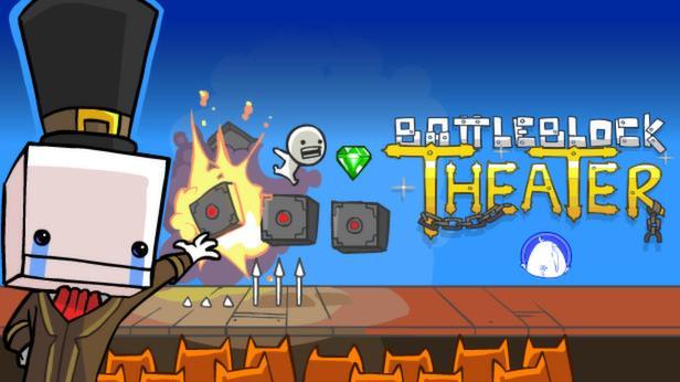 Derknallig-verrückte Multiplayer Jump-and-Runner Battleblock Theater hat eine gewisse Super Mario Atmosphäre, ist streckenweise jedoch wesentlich anspruchsvoller als das allseits bekannte Nintendo-Game. Verfügbar ist das Spiel auf PC und XBox360.