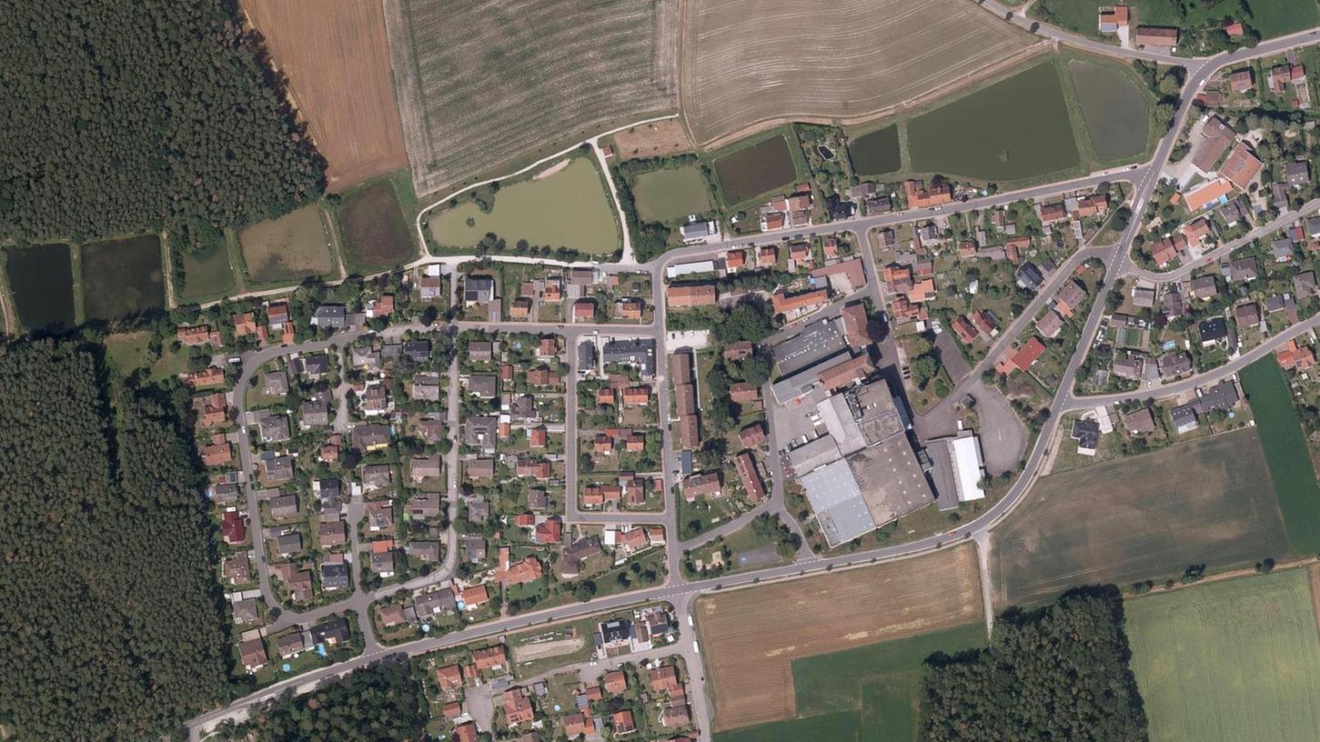 Das Seeland-Areal inmitten der westlichen Wohnbaugebiete Oberreichenbachs. Über das Gewerbegebiet ist nun ein Wohnbebauungsplan gelegt worden.