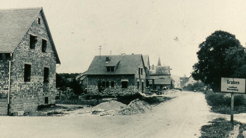 Das Dorf in früherer Zeit: Historisches Graben