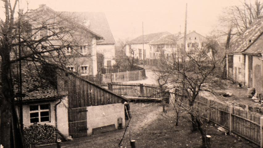 Treuchtlingen - Graben 1955 Gudrun Moritz