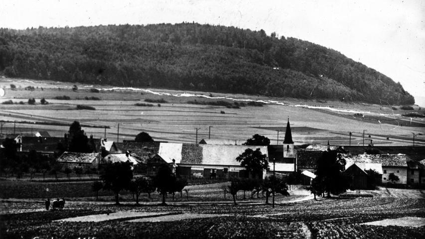 Historisches Graben bei Treuchtlingen; Fotobuch Müllers Hard