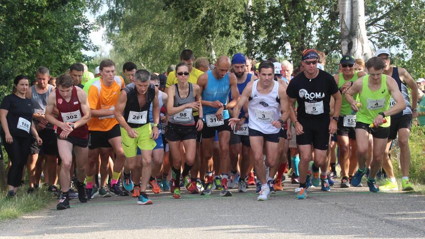 Lauf-Events wie der Rothseelauf stehen auf der Kippe.  Der Rothsee-Triathlon  wurde bereits verschoben und soll eventuell als Geister-Triathlon stattfinden.
