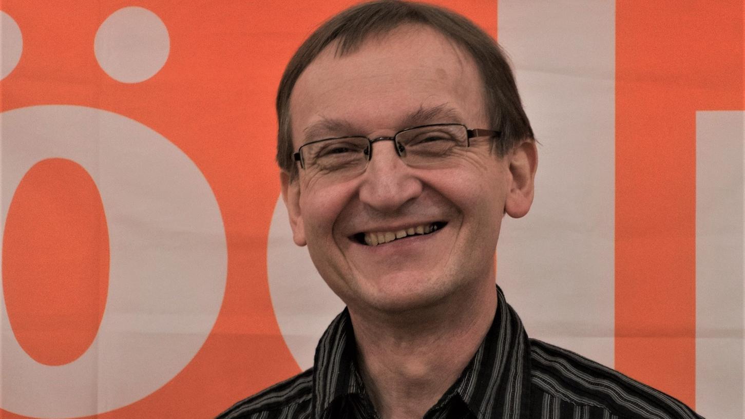 Seit früher Jugend politisch engagiert, strebt Klaus John im Wahlkreis Fürth-Neustadt/Aisch-Bad Windsheim ein Bundestagsmandant an. Foto:ÖDP