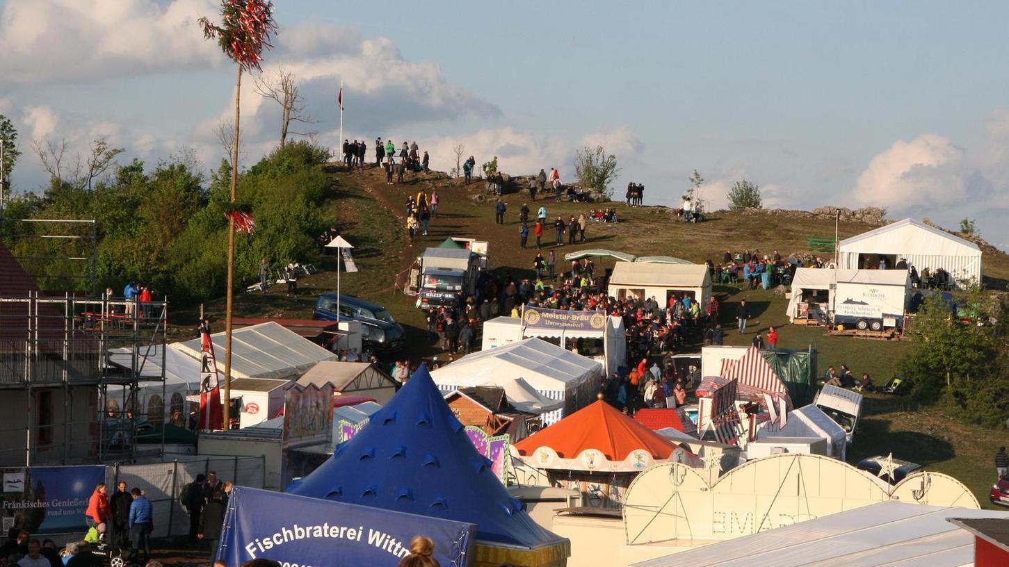 Ein Foto vom Walberlafest des Jahres 2019. Im letzten Jahr fiel die Festivität wegen Corona aus und so kommt es auch 2021.