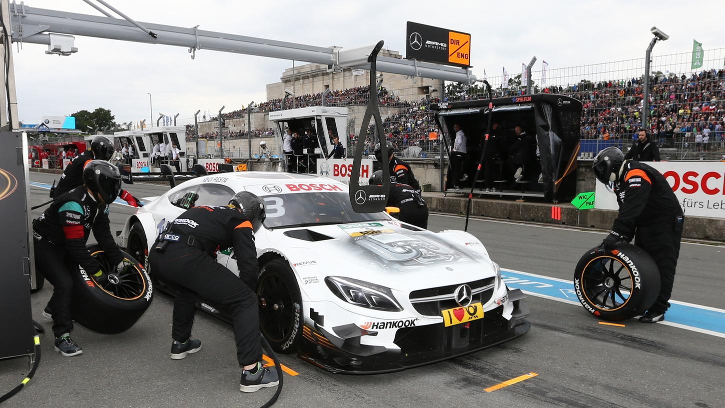 Somit bald auch wieder auf dem Norisring: Mercedes-AMG kehrt mit Kundenteams in die DTM zurück.