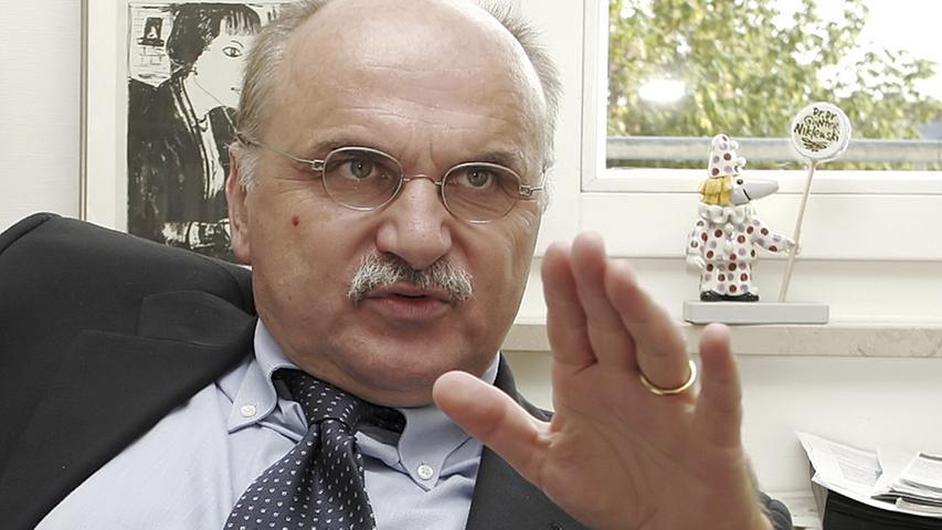 Universitäts-Professor Günter Niklewski sitzt ebenso im Vorstand des Klinikums Nürnberg. Für seine Tätigkeit im Bereich Medizin und Entwicklung verdiente Niklewski 218.000 Euro brutto.