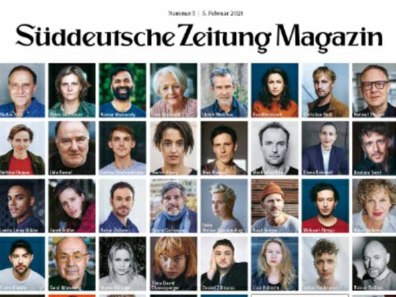 #ActOut: So sah die Titelseite des Magazins der