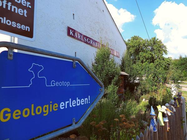 """Weg in die Zukunft: Noch mehr """"Geologie erleben"""" sollen in einigen Jahren die Besucher des """"Heritage Interpretation Center KarlsgrabenWelt""""."""