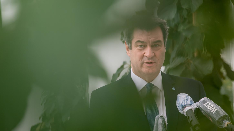 Bayerns Ministerpräsident Markus Söder beschäftigt sich schon mit neuen Koalitionenim Bund nach der Bundestagswahl. Ob er als Kanzlerkandidat antritt, ließ er allerdings offen. Foto: dpa