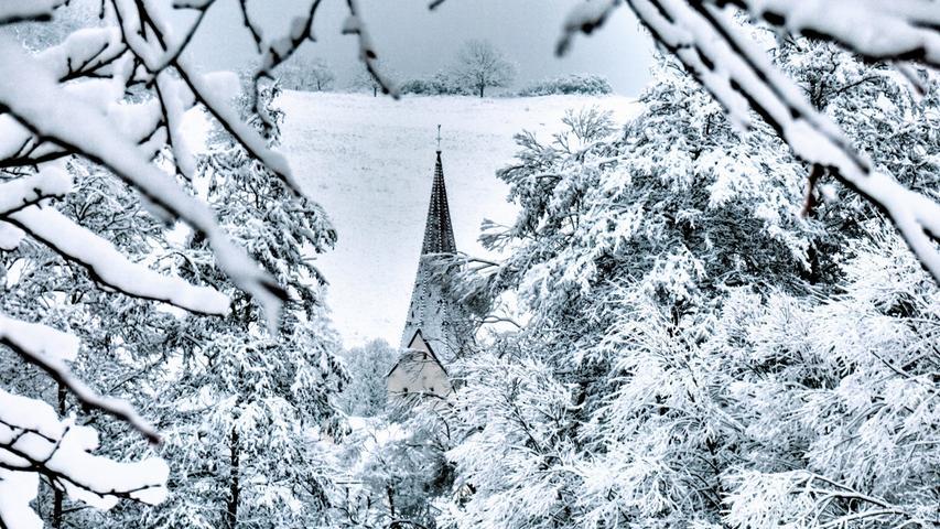 Winter Schnee Treuchtlingen Oliver Schmitt 08.02.2021