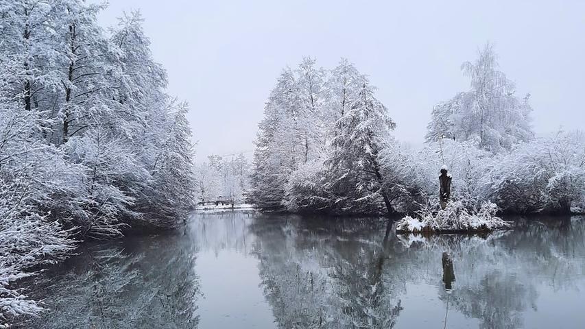 Neuschnee in Treuchtlingen: Das sind die schönsten Bilder unserer User