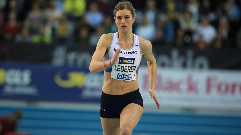 Amelie-Sophie Lederer in Aktion: Die 26-Jährige darf sich noch berechtigte Hoffnungen auf eine Olympia-Teilnahme machen.