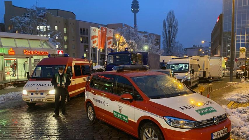 Nach Brand in Nürnberger Kraftwerk: Große Flugblatt-Aktion