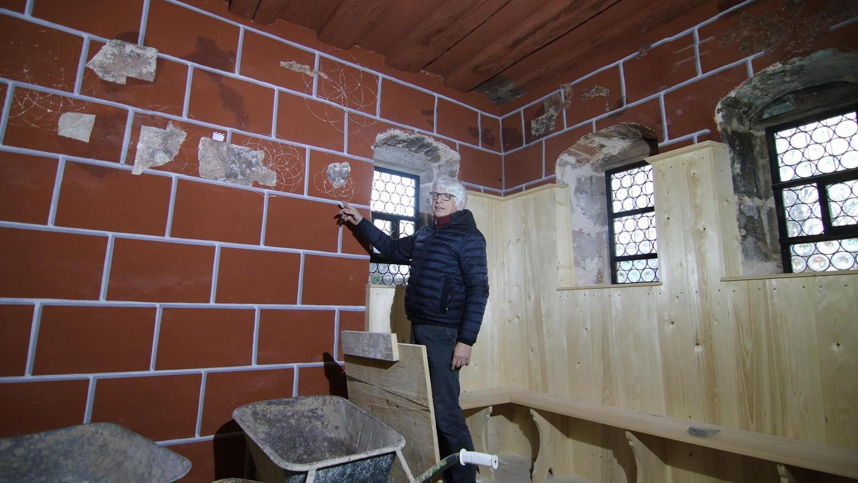 Das Badhaus aus Wendelstein will Freilandmuseumsleiter Dr. Herbert May in diesem Jahr eröffnen.