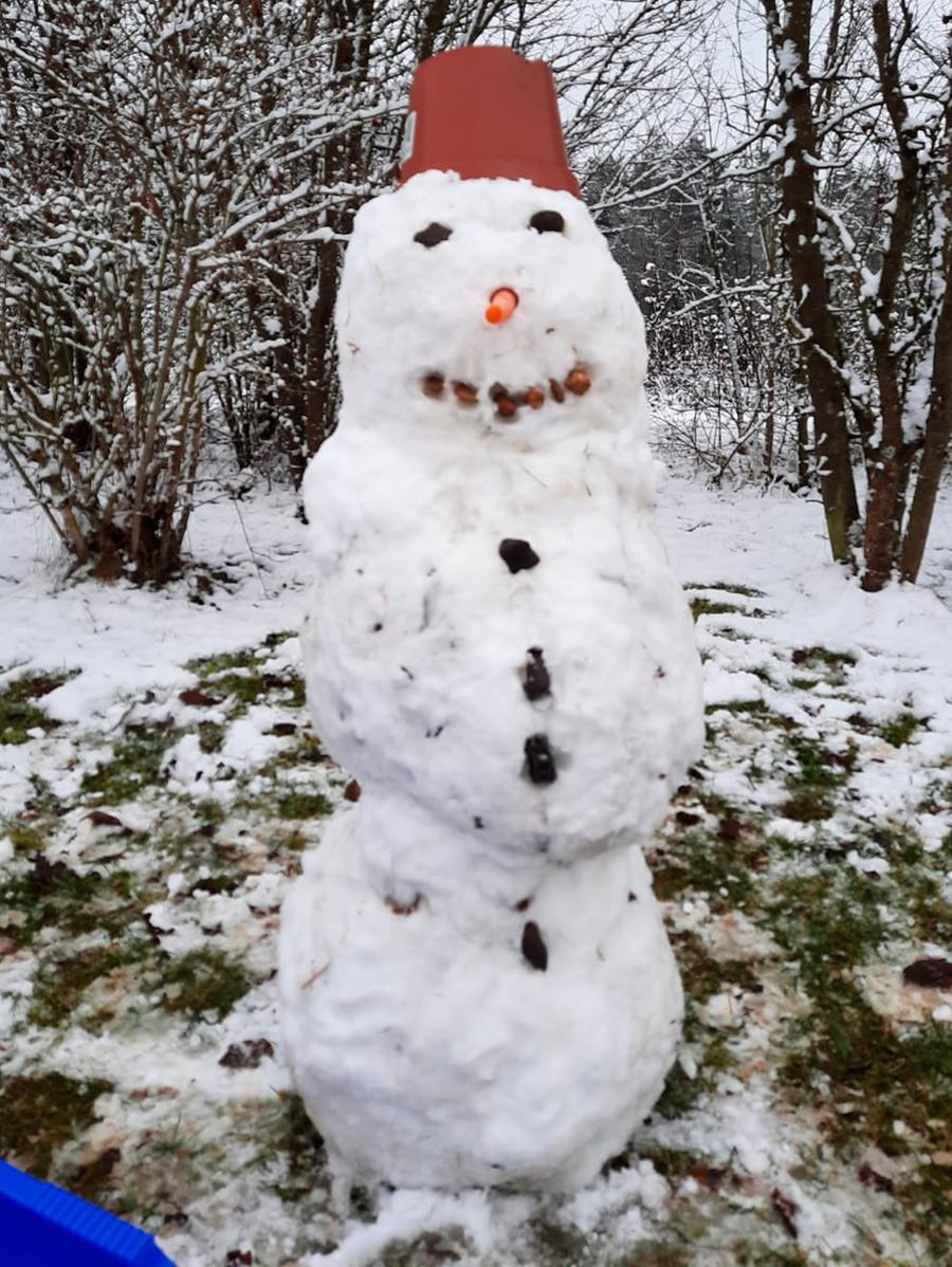 MOTIV: Schneemänner..RESSORT: Lokales Forchheim..FOTO: Tobias Beckenbach
