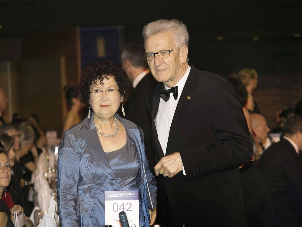 Will Meiner Frau Beistehen Kretschmann Tritt Im Wahlkampf Kurzer Politik Nordbayern De