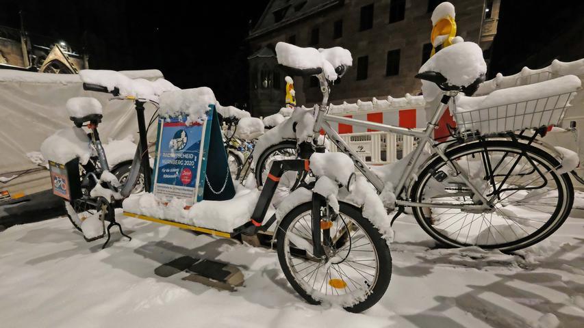 Auch für den Radentscheid setzten sich die Klimaschützer ein. Inzwischen haben die Rathausparteien einen Mobilitätspakt beschlossen, der allen Verkehrsteilnehmern gerecht werden soll.