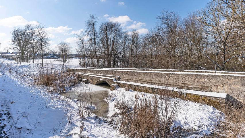 Der Landkreis Erlangen-Höchstadt und seine Gemeinden haben sich in ein Winterwunderland verwandelt.