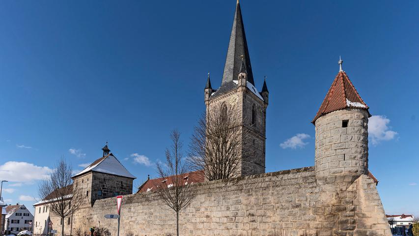 Winteridylle im Landkreis Erlangen-Höchstadt