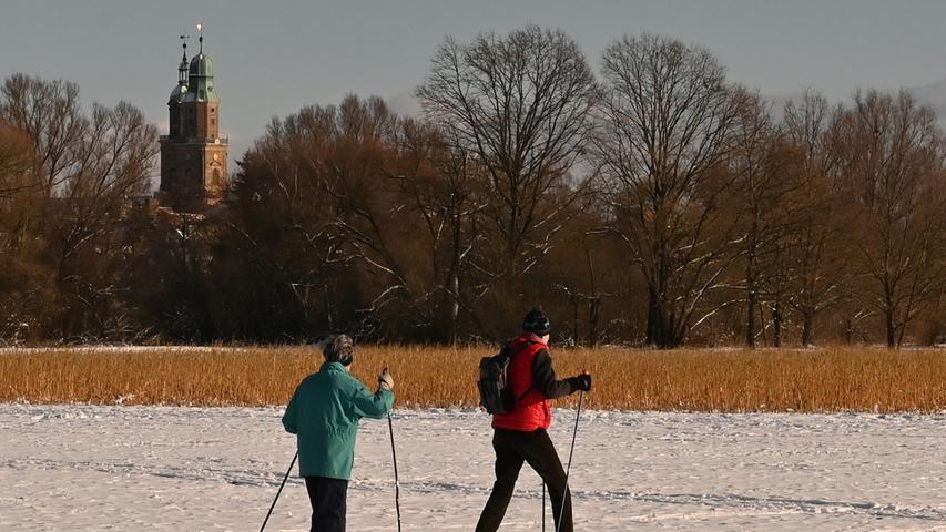 Traumwetter: So viel Spaß hat Erlangen im Schnee
