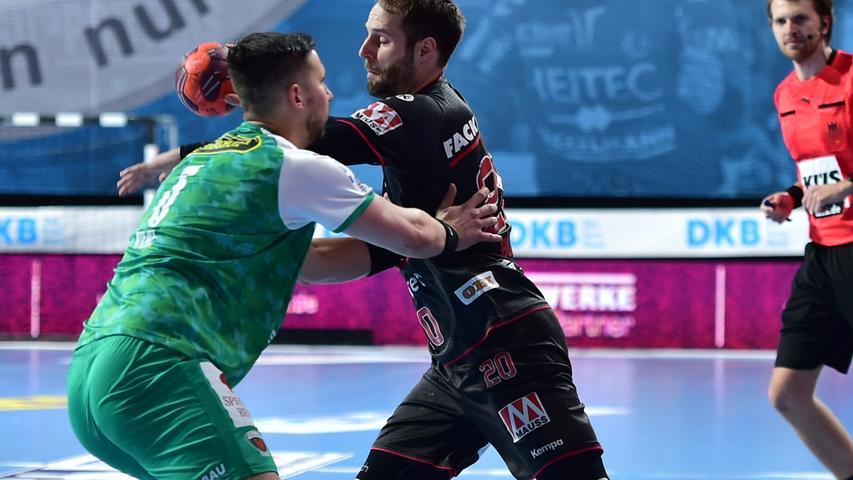 Endlich wieder Handball: HC Erlangen gewinnt gegen die Füchse Berlin