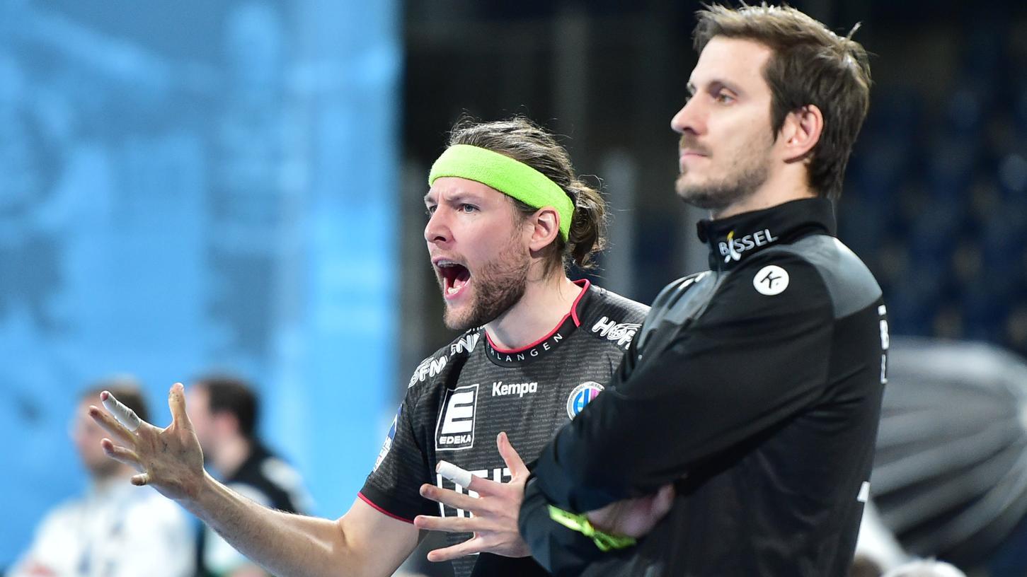 Johannes Sellin (links) und Trainer Michael Haaß (rechts) sind bereit für den nächsten Sieg.