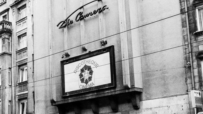 Eine auffällige Fassade und ein markanter Schriftzug waren das Markenzeichen der Camera. Wenigstens die Metall-Lettern sollen nun noch erhalten werden.